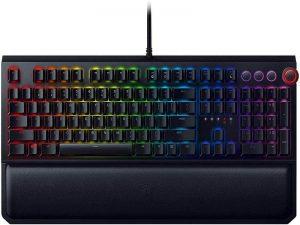 Razer Black Widow Elite Mechanical Gaming Keyboard: Green Mechanical Switches