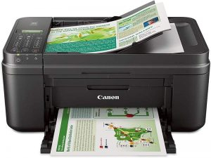 Canon MX492 Black Wireless All-in-One Small Printer