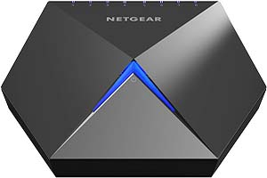 NETGEAR Nighthawk S8000 8-Port Gigabit Smart Managed Plus Gaming Switch (GS808E) - Low Latency for Responsive Streaming, Cool-touch Zinc-alloy Desktop Housing, Fan-less for Quiet Operation