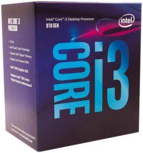 Intel-i3-8100