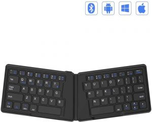 Jelly Combo Ultra Slim Foldable BT Keyboard