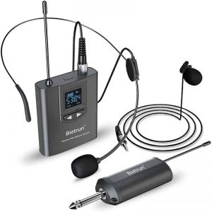 Microfonos Inalambricos Lavalier Wireless Microphone