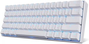 RK Royal Kludge RK61 60% RGB Mechanical Keyboard – Blue Switch