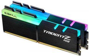 G.Skill TridentZ RGB Series 16GB F4-3200C14D-16GTZR RAM