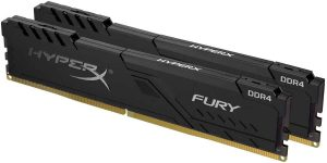 HyperX Fury 16GB Black XMP RAM