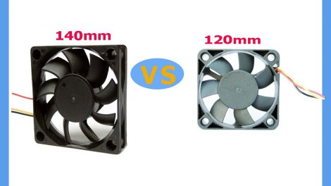 The 120mm Vs 140mm Fans Battle