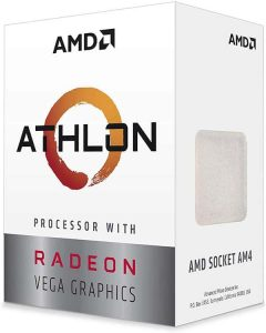AMD Athlon 3000G 2-Core, 4-Thread Unlocked Desktop Processor
