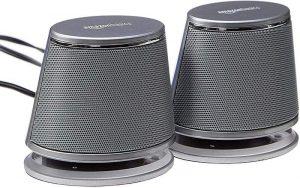 Amazon Basics USB-Powered PC Computer Speakers with Dynamic Sound