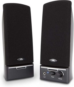 Cyber Acoustics CA-2014 multimedia desktop computer speaker