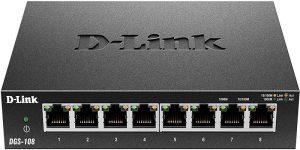 D-Link Ethernet Switch (DGS-108)