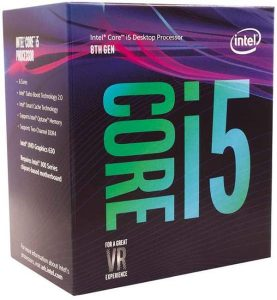 Intel Core i5-8400 Desktop Processor 6 Cores