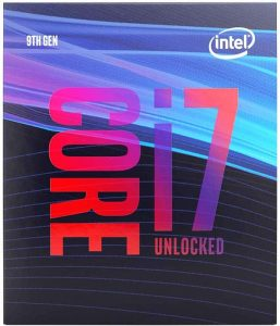 Intel Core i7-9700K Desktop Processor 8 Cores