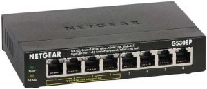 NETGEAR 8-Port Gigabit Ethernet Unmanaged PoE Switch (GS308P)