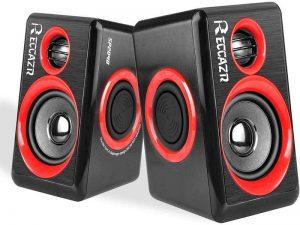 RECCAZR 2.0 CH PC Speakers with Surround Sound