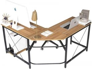 SOGES L Shaped Desk Corner Computer Desk