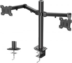 ERGO TAB Dual LCD LED Monitor Desk Stand Mount