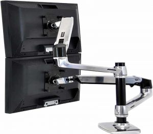Ergotron – LX Dual Stacking Arm