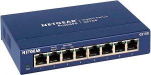 NETGEAR 8-Port Gigabit Ethernet Unmanaged Switch (GS108)