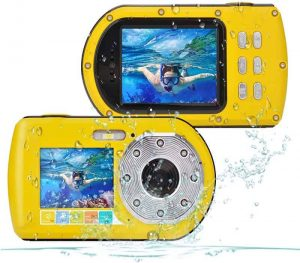 Waterproof Camera, Camking Full HD