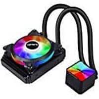 upHere Liquid CPU Cooler 120mm, SYNC RGB Fan,120mm PWM Fan