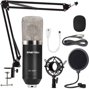 Condenser Microphone ZINGYOU ZY-007 Professional Cardioid Mic 1
