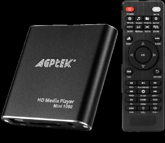 AGPtek HDMI Media Player