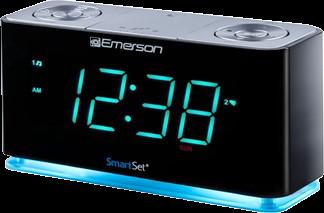 Emerson Smart Set Alarm Clock Radio