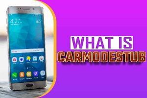 what is carmodestub